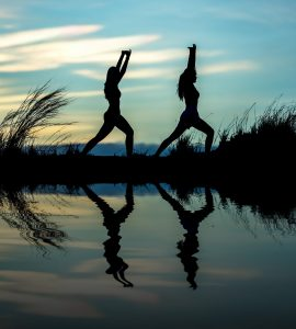 yoga sandrasana